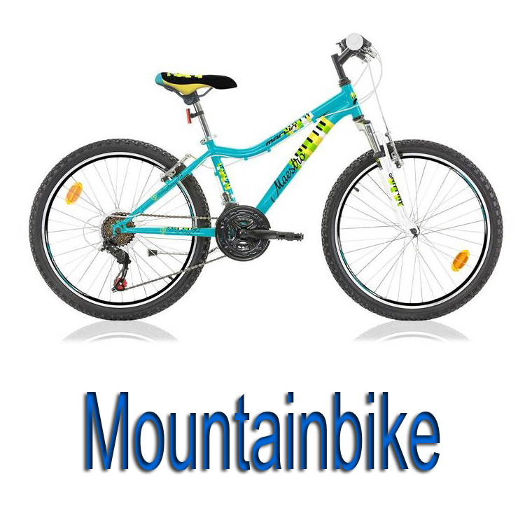 "Mountainbikes 20"" - 24"""